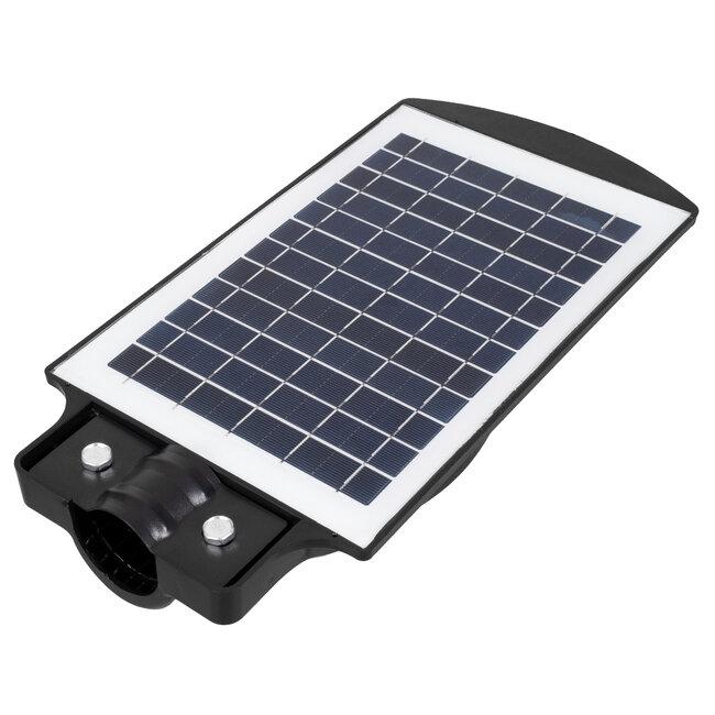 71550 Αυτόνομο Ηλιακό Φωτιστικό Δρόμου Street Light All In One LED SMD 50W 4000lm με Ενσωματωμένη Μπαταρία Li-ion 4500mAh - Φωτοβολταϊκό Πάνελ με Αισθητήρα Ημέρας-Νύχτας PIR Αισθητήρα Κίνησης και Ασύρματο Χειριστήριο RF 2.4Ghz Αδιάβροχο IP - 8