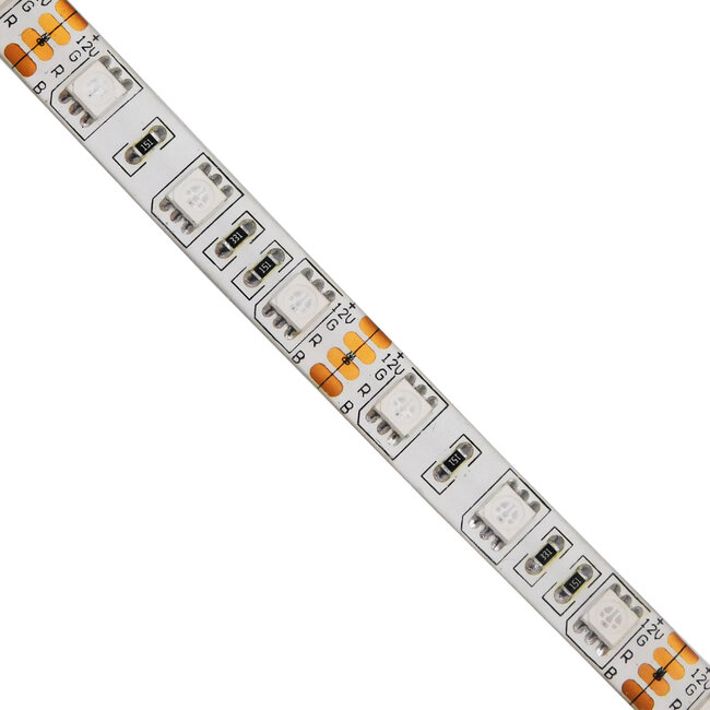 GloboStar® 70129 Ταινία LED SMD 5050 5m 14.4W/m 60LED/m 1454 lm/m 120° DC 12V Αδιάβροχη IP65 RGB - 5 Χρόνια Εγγύηση - 3