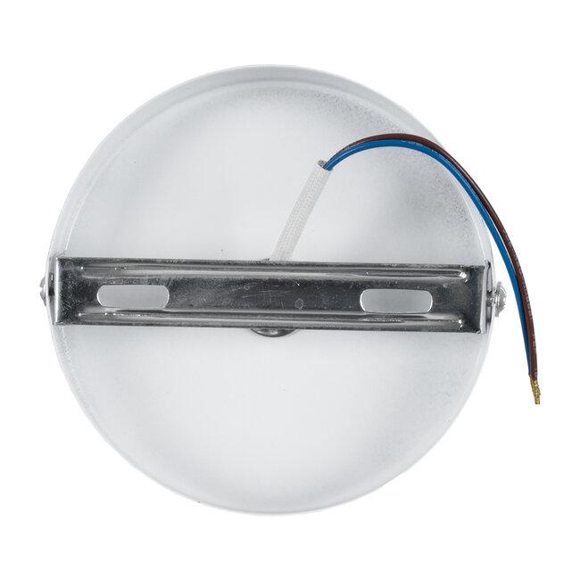 SARA 00842 Μοντέρνο Φωτιστικό Οροφής / Τοίχου Μονόφωτο 1xE27 Μεταλλικό Λευκό Φ10 x Υ10.3cm - 5