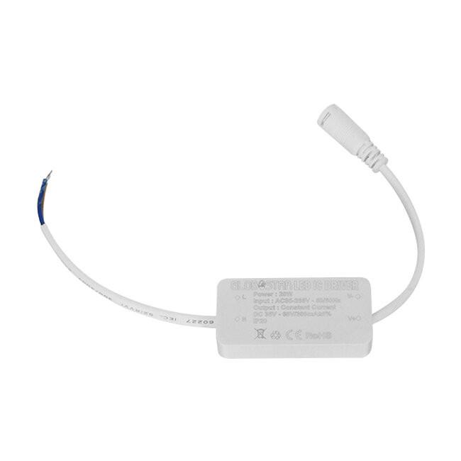Πάνελ PL LED Οροφής Στρογγυλό Εξωτερικό 20 Watt 230v Θερμό GloboStar 01789 - 4
