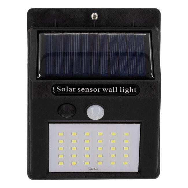 71500 Αυτόνομο Ηλιακό Φωτιστικό LED SMD 6W 600lm με Ενσωματωμένη Μπαταρία 1200mAh - Φωτοβολταϊκό Πάνελ με Αισθητήρα Ημέρας-Νύχτας και PIR Αισθητήρα Κίνησης IP65 Ψυχρό Λευκό 6000K - 5