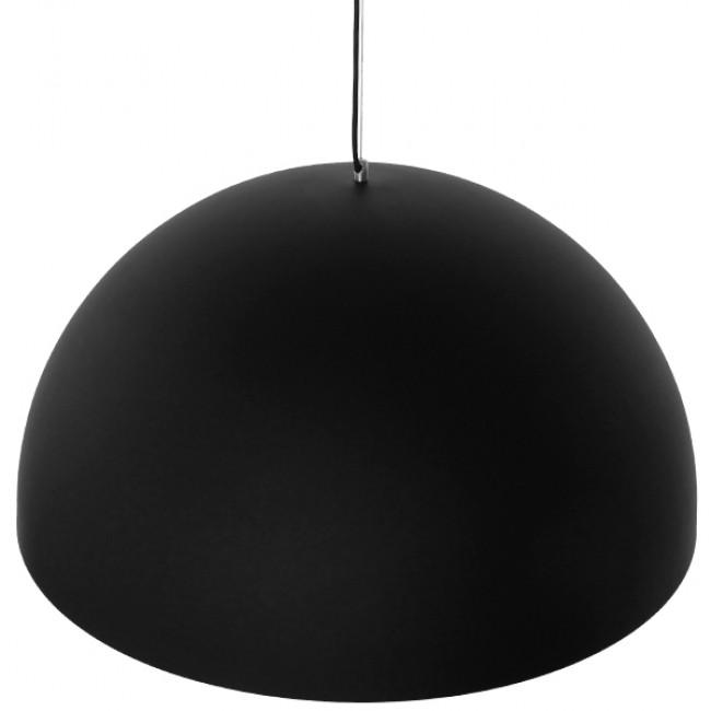 Μοντέρνο Κρεμαστό Φωτιστικό Οροφής Μονόφωτο Μαύρο Χρυσό Μεταλλικό Καμπάνα Φ60 GloboStar MEDEA 01344 - 4
