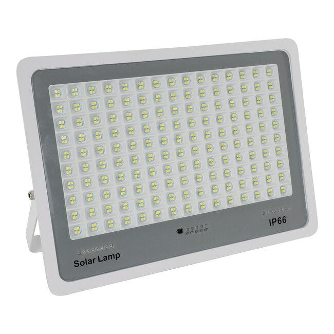 71562 Αυτόνομος Ηλιακός Προβολέας LED SMD 300W 36000lm με Ενσωματωμένη Μπαταρία 25500mAh - Φωτοβολταϊκό Πάνελ με Αισθητήρα Ημέρας-Νύχτας και Ασύρματο Χειριστήριο RF 2.4Ghz Αδιάβροχος IP66 Ψυχρό Λευκό 6000K - 3