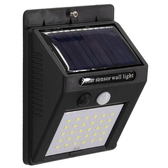71500 Αυτόνομο Ηλιακό Φωτιστικό LED SMD 6W 600lm με Ενσωματωμένη Μπαταρία 1200mAh - Φωτοβολταϊκό Πάνελ με Αισθητήρα Ημέρας-Νύχτας και PIR Αισθητήρα Κίνησης IP65 Ψυχρό Λευκό 6000K - 3