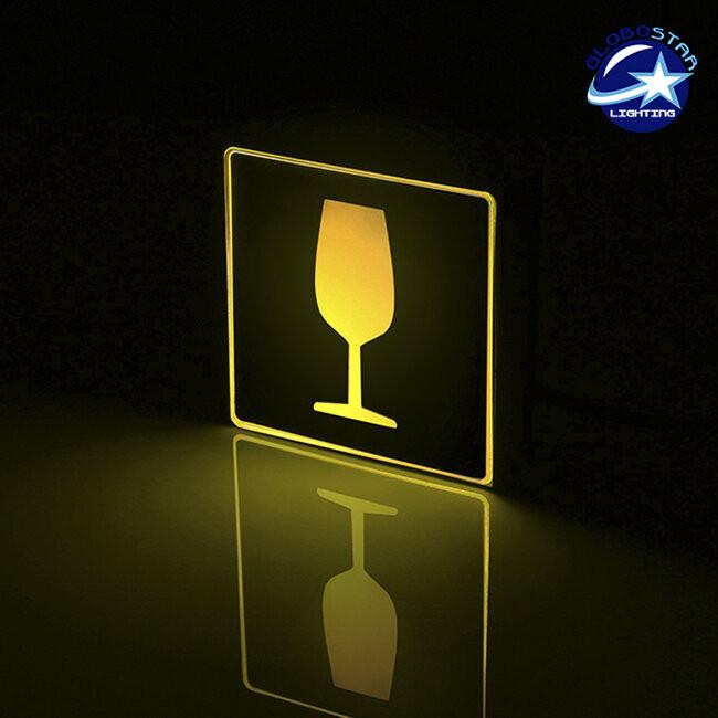 Φωτιστικό LED Σήμανσης Αλουμινίου Wine GloboStar 75507 - 2