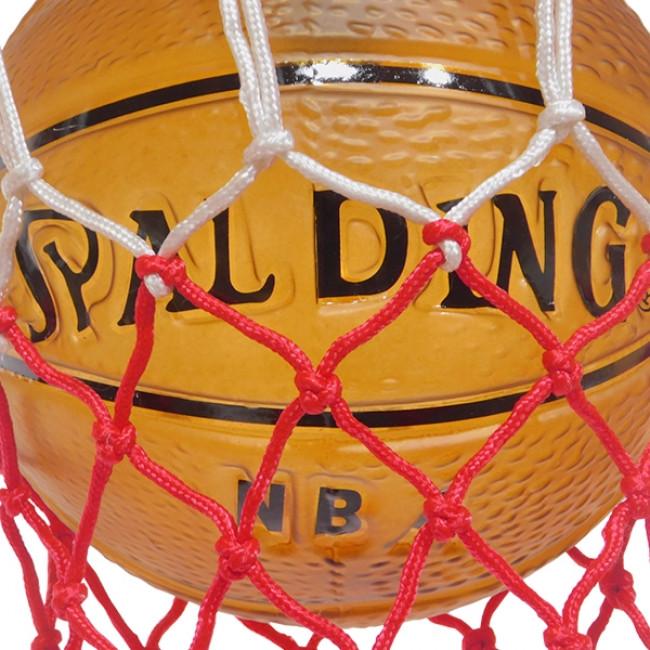 Μοντέρνο Κρεμαστό Φωτιστικό Οροφής Μονόφωτο Πορτοκαλί Μεταλλικό Πλέγμα Φ32 GloboStar NBA  01027 - 5
