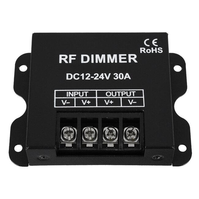 73310 Ασύρματο LED Dimmer με Χειριστήριο RF 2.4Ghz DC 12-24V 30A Max 720W - 3