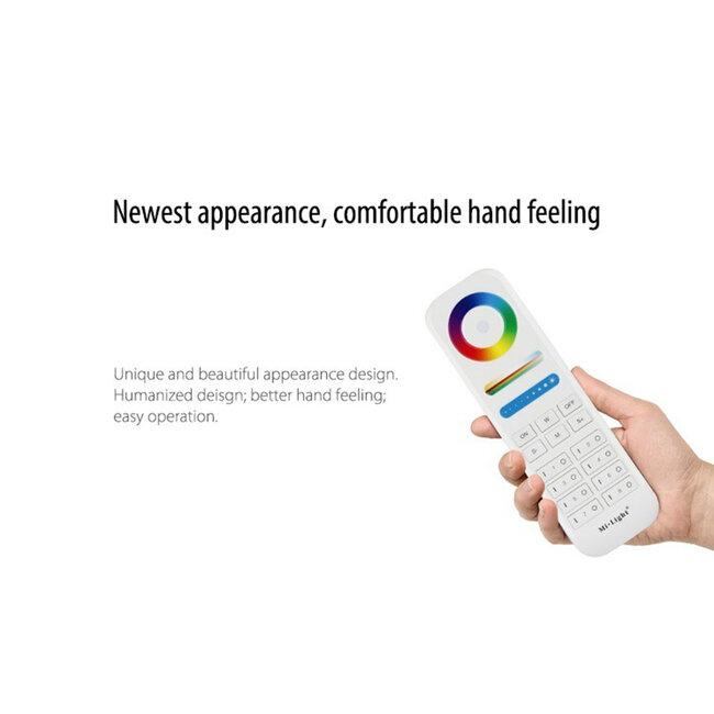 GloboStar® 73426 Ασύρματο Χειριστήριο Αφής έως 8 Group Wireless RF 2.4Ghz LED RGBW+WW Smart Touch Panel 8-Zone Mi-Light FUT089 433MHz RF 2.4G - 9