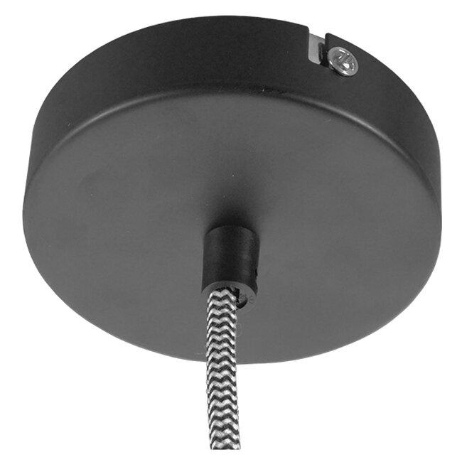 Μοντέρνο Industrial Κρεμαστό Φωτιστικό Οροφής Μονόφωτο Γκρι Τσιμέντο Καμπάνα Φ18  FELINI 01321 - 10