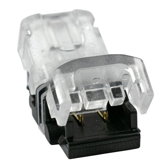 GloboStar® 70714 Ταχυσύνδεσμος Ένωσης IP20 - Strip To Cable Connector για Ένωση 1 x Μονόχρωμης Ταινίας LED Πλάτους 8mm με 1 x Καλώδιο Τροφοδοσίας - 3