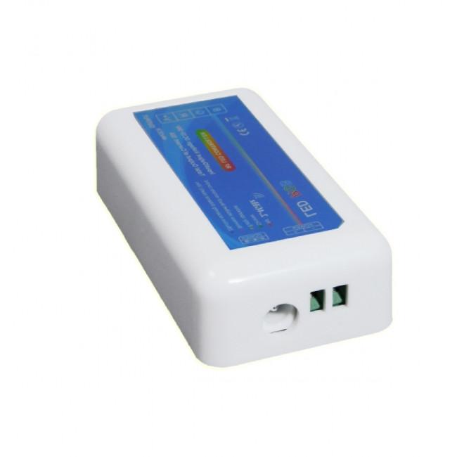 Σετ Ασύρματο RF 2.4G LED Controller Τοίχου Αφής RGB 12-24 Volt 288/576 Watt για Δύο Group GloboStar 04052 - 3