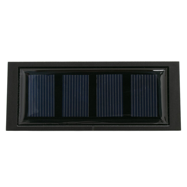 GloboStar® 71513 Αυτόνομο Ηλιακό Φωτιστικό LED SMD 1W 100 lm με Ενσωματωμένη Μπαταρία 1000mAh - Φωτοβολταϊκό Πάνελ με Αισθητήρα Ημέρας-Νύχτας για Αρίθμηση Δρόμου με Αριθμό 3 IP55 Ψυχρό Λευκό 6000k - 6