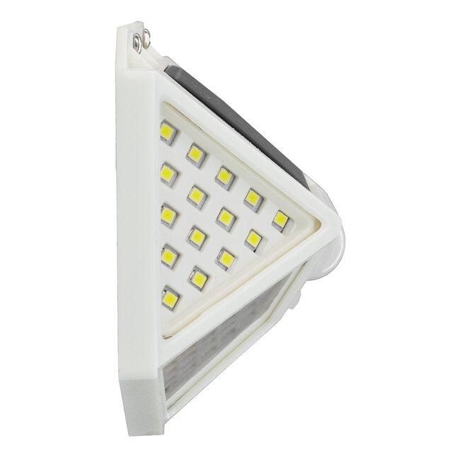 71498 Αυτόνομο Ηλιακό Φωτιστικό LED SMD 10W 1000lm με Ενσωματωμένη Μπαταρία 1200mAh - Φωτοβολταϊκό Πάνελ με Αισθητήρα Ημέρας-Νύχτας και PIR Αισθητήρα Κίνησης IP65 Ψυχρό Λευκό 6000K - 3