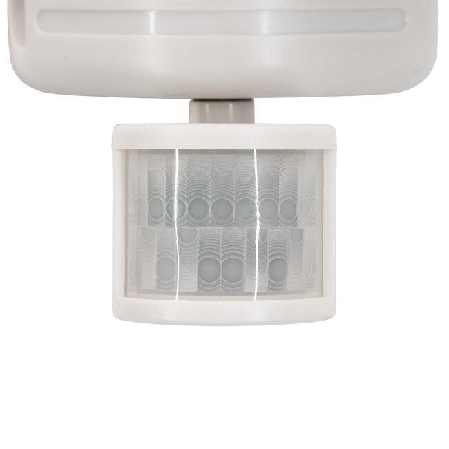 GloboStar® 71508 Αυτόνομο Ηλιακό Φωτιστικό LED SMD 10W 150lm με Ενσωματωμένη Μπαταρία 1200mAh - Φωτοβολταϊκό Πάνελ με Αισθητήρα Ημέρας-Νύχτας και PIR Αισθητήρα Κίνησης Αδιάβροχο IP54 Ψυχρό Λευκό 6000K - 9