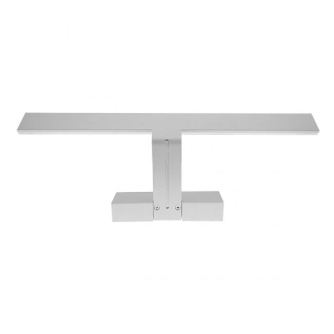 LED Φωτιστικό Τοίχου Αρχιτεκτονικού Φωτισμού 42cm Καθρέπτη / Πίνακα Λευκό IP54 12 Watt SMD Φυσικό Λευκό GloboStar 93331 - 4