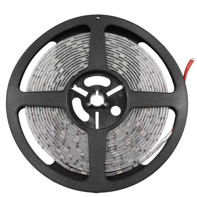 GloboStar® 70114 Ταινία LED SMD 5050 5m 7.2W/m 30LED/m 727 lm/m 120° DC 12V Αδιάβροχη IP65 Κόκκινο - 5 Χρόνια Εγγύηση - 4