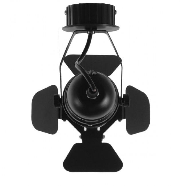 Vintage Industrial Φωτιστικό Οροφής Μονόφωτο Μαύρο Μεταλλικό  CHICAGO 01371 - 5