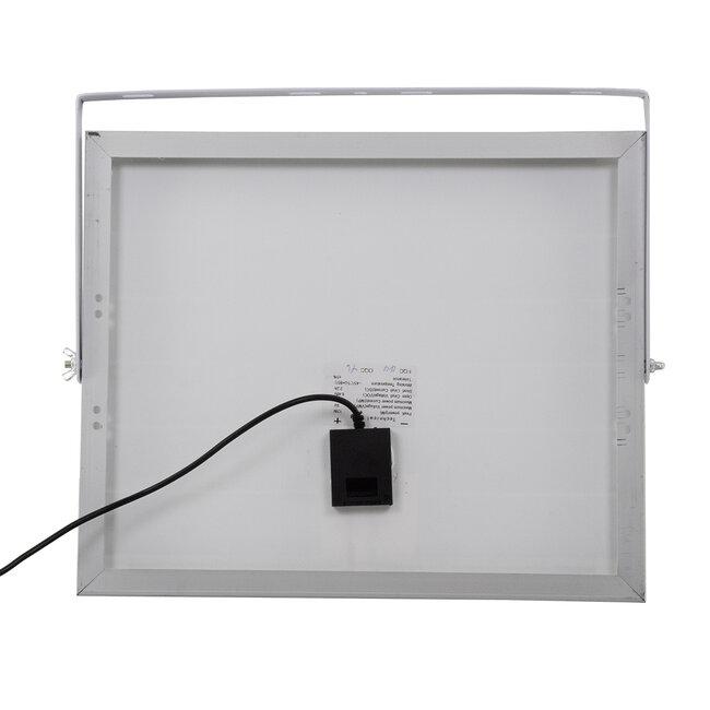 71555 Αυτόνομος Ηλιακός Προβολέας LED SMD 40W 3200lm με Ενσωματωμένη Μπαταρία 5000mAh - Φωτοβολταϊκό Πάνελ με Αισθητήρα Ημέρας-Νύχτας και Ασύρματο Χειριστήριο RF 2.4Ghz Αδιάβροχος IP66 Ψυχρό Λευκό 6000K - 9