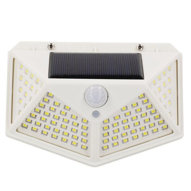 71498 Αυτόνομο Ηλιακό Φωτιστικό LED SMD 10W 1000lm με Ενσωματωμένη Μπαταρία 1200mAh - Φωτοβολταϊκό Πάνελ με Αισθητήρα Ημέρας-Νύχτας και PIR Αισθητήρα Κίνησης IP65 Ψυχρό Λευκό 6000K - 6