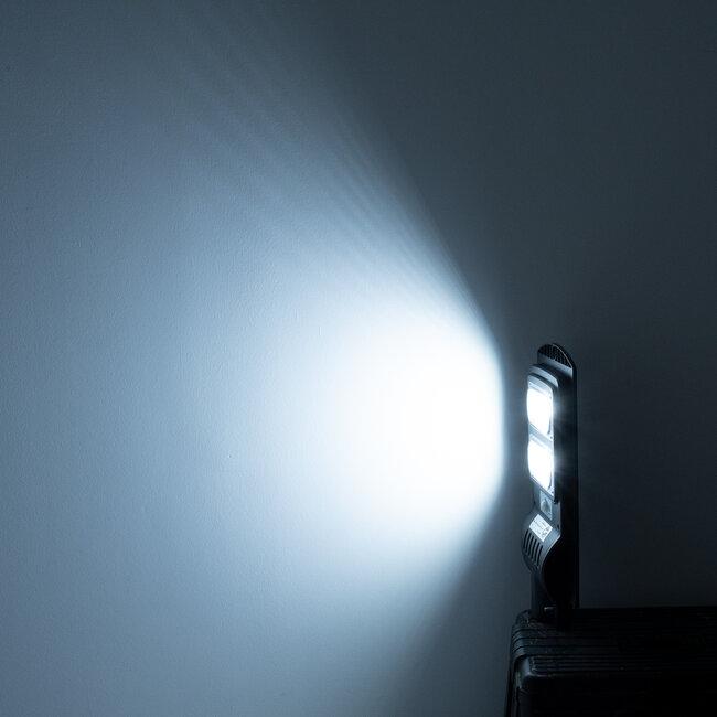GloboStar® 71551 Αυτόνομο Ηλιακό Φωτιστικό Δρόμου Street Light All In One LED SMD 100W 8000lm με Ενσωματωμένη Μπαταρία Li-ion 5500mAh - Φωτοβολταϊκό Πάνελ με Αισθητήρα Ημέρας-Νύχτας PIR Αισθητήρα Κίνησης και Ασύρματο Χειριστήριο RF 2.4Ghz Αδιάβροχο I - 13