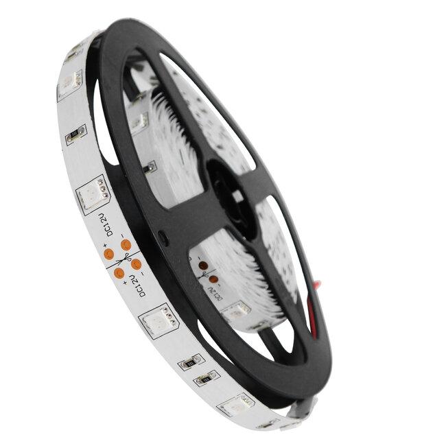 GloboStar® 70016 Ταινία LED SMD 5050 5m 7.2W/m 30LED/m 727 lm/m 120° DC 12V IP20 Μπλε - 5 Χρόνια Εγγύηση - 2