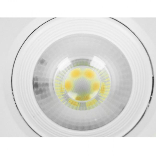 Φωτιστικό LED Spot Οροφής Mini Downlight 5W 230v 500lm 50° με Κινούμενη Βάση Φ9 Φυσικό Λευκό 4500k GloboStar 01881 - 4