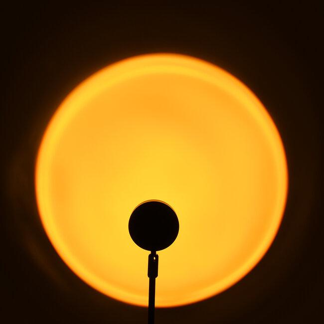 GloboStar® 00814 Μοντέρνο Επιτραπέζιο Φωτιστικό Μονόφωτο Μεταλλικό LED 12W DC 5V Rotation 180° SUN - 3