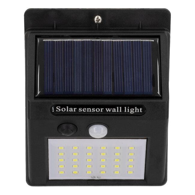 71500 Αυτόνομο Ηλιακό Φωτιστικό LED SMD 6W 600lm με Ενσωματωμένη Μπαταρία 1200mAh - Φωτοβολταϊκό Πάνελ με Αισθητήρα Ημέρας-Νύχτας και PIR Αισθητήρα Κίνησης IP65 Ψυχρό Λευκό 6000K - 8