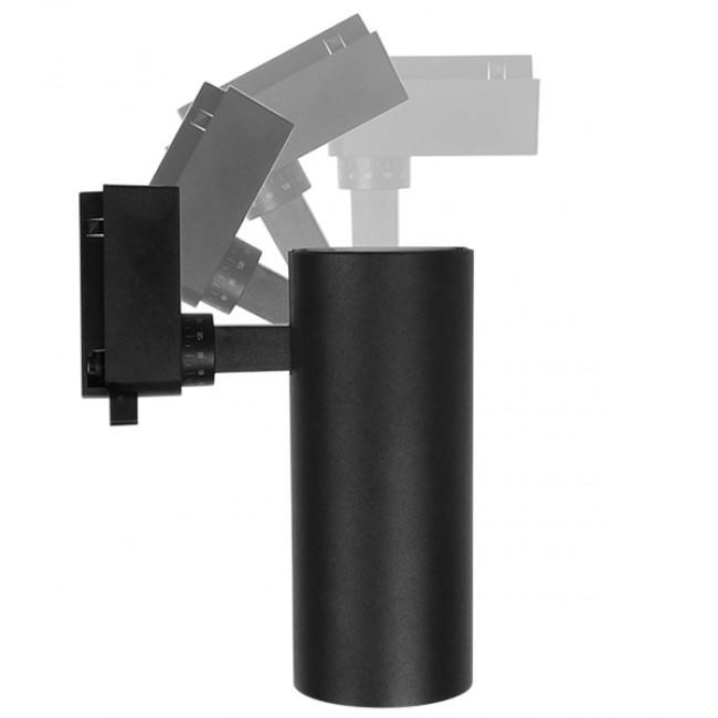 Μονοφασικό Bridgelux COB LED Μάυρο Φωτιστικό Σποτ Ράγας 30W 230V 3750lm 30° Φυσικό Λευκό 4500k GloboStar 93112 - 7