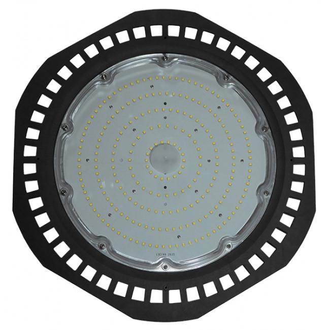 Επαγγελματική Καμπάνα UFO High Bay 200W 230V 28000lm 100° Αδιάβροχη IP66 Ψυχρό Λευκό 5000k GloboStar 78012 - 2