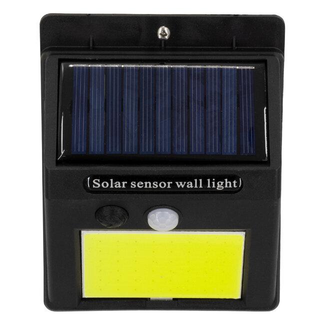 71495 Αυτόνομο Ηλιακό Φωτιστικό LED COB 10W 1000lm με Ενσωματωμένη Μπαταρία 1200mAh - Φωτοβολταϊκό Πάνελ με Αισθητήρα Ημέρας-Νύχτας και PIR Αισθητήρα Κίνησης IP65 Ψυχρό Λευκό 6000K - 8