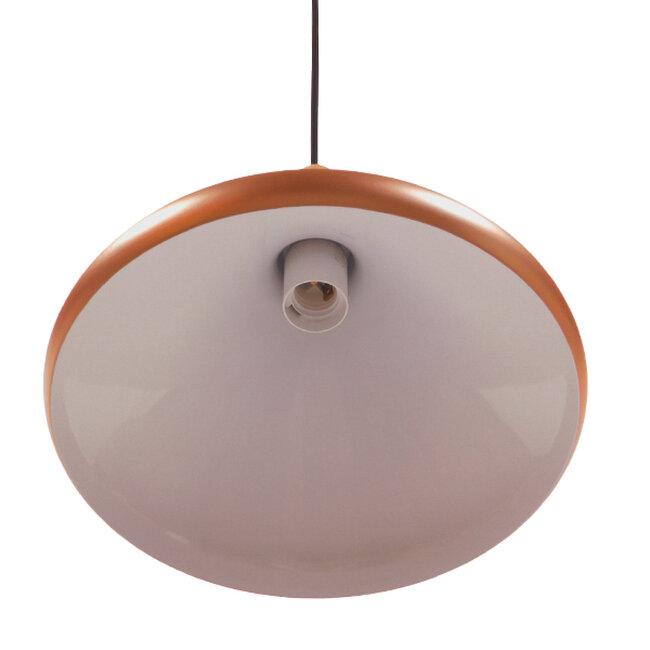 Μοντέρνο Κρεμαστό Φωτιστικό Οροφής Μονόφωτο Χάλκινο Μεταλλικό Καμπάνα Φ27  BARING 01224 - 5