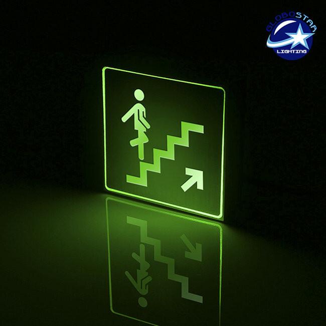 Φωτιστικό LED Σήμανσης Αλουμινίου Σκάλας Επάνω GloboStar 75510 - 2