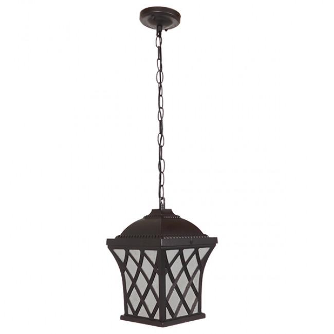 Vintage Industrial Κρεμαστό Φωτιστικό Οροφής Μονόφωτο Μπρονζέ Μεταλλικό Πλέγμα GloboStar LINCOLN 01399 - 2