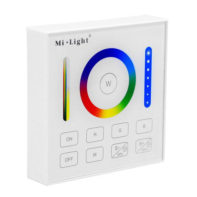 73425 Mi-Light B0 LED RGBW+WW+CCT Smart Ασύρματο Χειριστήριο Αφής 2.4G RF Φορητό/Τοίχου με Μπαταρία για όλα τα Mi-Light Controller Box - 2