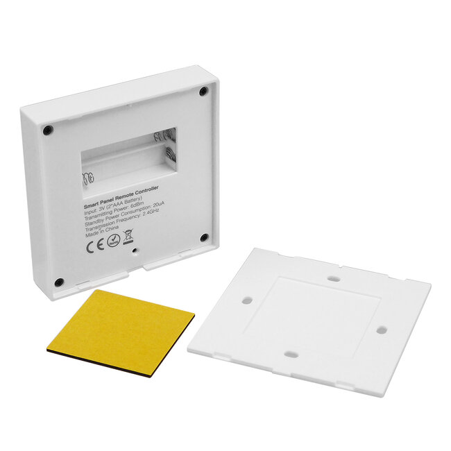 73425 Mi-Light B0 LED RGBW+WW+CCT Smart Ασύρματο Χειριστήριο Αφής 2.4G RF Φορητό/Τοίχου με Μπαταρία για όλα τα Mi-Light Controller Box - 6