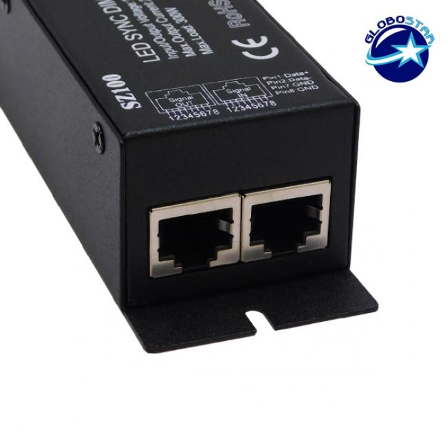 Ασύρματο LED RF SYNC Dimmer 12-24 Volt 300 Watt με Τηλεχειριστήριο GloboStar 04044 - 3