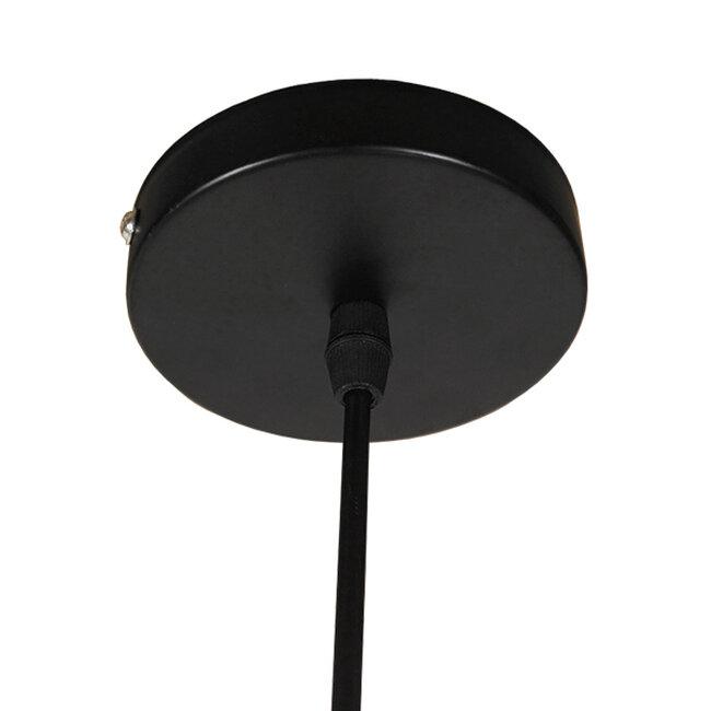 Μοντέρνο Κρεμαστό Φωτιστικό Οροφής Μονόφωτο Μαύρο Μεταλλικό Φ35  SEVILLE BLACK 01269 - 10